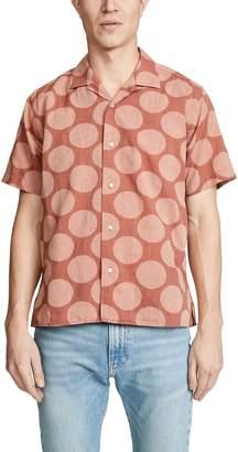 Gitman Brothers BD Big Dot Shirt - Camp Collar
