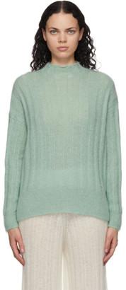 RUS Green Mohair Makura Sweater
