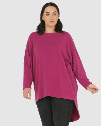 Advocado Plus Batwing High Low Top
