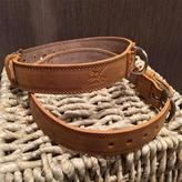 Madda Fella Leather Dog Collar