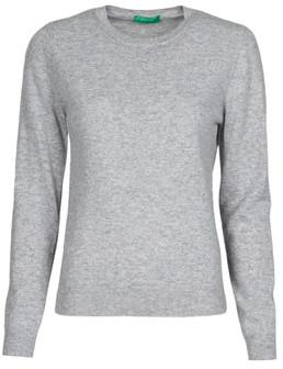 Benetton 1002D1K01 women's Sweater in Grey