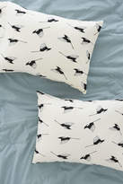 Deny Designs Elisabeth Fredriksson For Deny Magpies Pillowcase Set