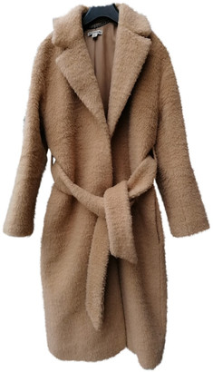 Whistles Camel Wool Coats