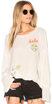 Lauren Moshi Maddie Pullover in Cream