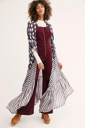 Free People Kenna Ruffle Kimono
