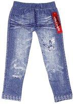Crush Girls Leggings 7-16 ! Denim jeans look printed stretchy Jeggings, 7-16