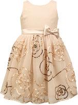 Jayne Copeland Sequin-Rose Special Occasion Dress, Big Girls (7-16)