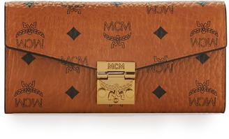 MCM Patricia Visetos Two-Fold Wallet-on-Chain