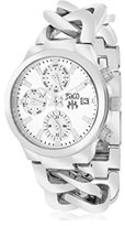 Jivago Women's JV1240 Analog Display Swiss Quartz Silver Watch