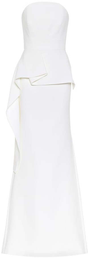 Roland Mouret Galloway wool bridal gown