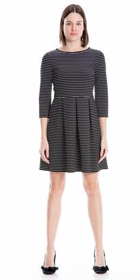 Max Studio Women's 3/4 Sleeve Dress