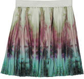 Finger In The Nose Amy Palm Tree Pleated Skirt