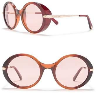 Roberto Cavalli 54mm Oval Sunglasses