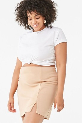 Forever 21 Plus Size Bodycon Mini Skirt