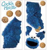 Sesame Street Roomates Giant Cookie Monster Wall Decal
