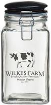 Global Amici Wilkes Farm 2-pc. Hermetic Glass Storage Jar Set