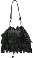 L'Autre Chose fringed shoulder bag - women - Leather - One Size