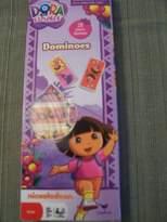 Nickelodeon Dora the Expolorer Dominoes Set ~ 28 Plastic Dominoes