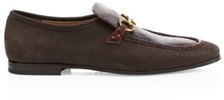 Salvatore Ferragamo Anderson Python & Leather Loafer