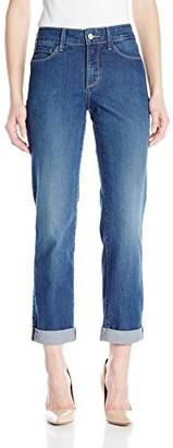 NYDJ Women's Petite Sylvia Boyfriend Jeans in Premium Lightweight Denim