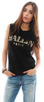 Ballin Brian Lichtenberg Muscle Tee in Black/Gold