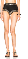Norma Kamali All Over Stud Boy Bikini Bottom