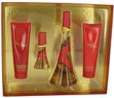 Rihanna Rebelle Gift Set for Women (3.4 oz EDP Spray + 3 oz Body Lotion + 3 oz Shower Gel + .5 oz Mini EDP Spray)