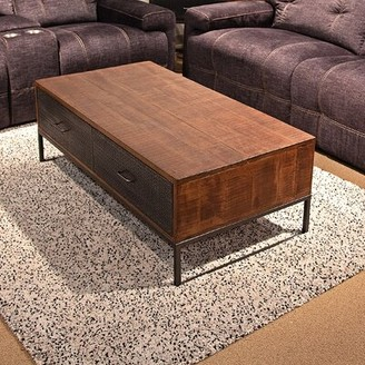 17 Stories Hertford Coffee Table with Storage