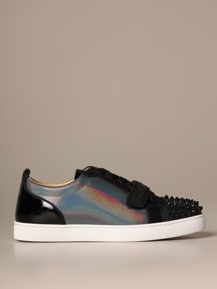 Christian Louboutin Louis Junior Sneakers With Studs
