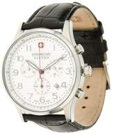 Swiss Military Hanowa Patriot Chronograph Watch White