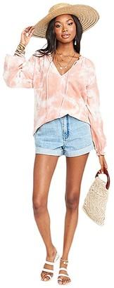 Show Me Your Mumu Charlene Tunic (Twisted Tie-Dye Pink) Women's Blouse