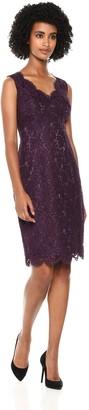 Vince Camuto Women's Lace Bodycon Midi Dress