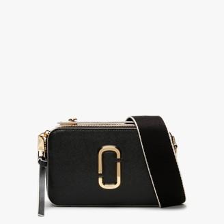 Marc Jacobs Large Snapshot Black Leather Camera Bag
