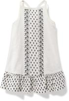Old Navy Cross-Back Ruffle-Hem Dress for Baby