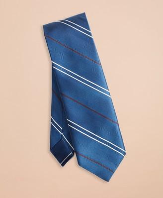 Brooks Brothers Twill Stripe Silk Tie