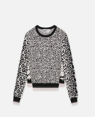 Stella McCartney Animal Print Sweater, Women's
