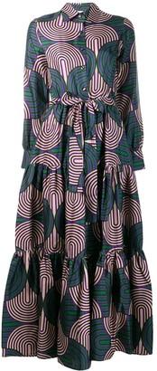 La DoubleJ Maxi Pleated Dress