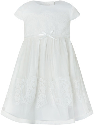 Under Armour Baby Alovette Christening Gown Ivory