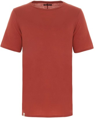 Circle Park Seam Tee in Rust