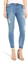 Women's 1822 Destroyed Crop Skinny Jeans