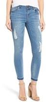 Women's 1822 Ripped Crop Skinny Jeans