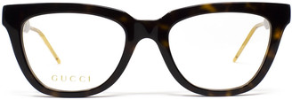 Gucci Gg0601o Havana Glasses