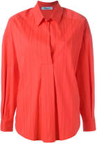 Blumarine ribbed shirt