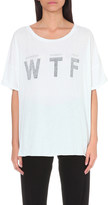 Wildfox Couture WTF cotton t-shirt