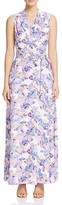 NYDJ Lena Floral Print Maxi Dress