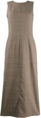 MM6 MAISON MARGIELA Sleeveless Check Dress