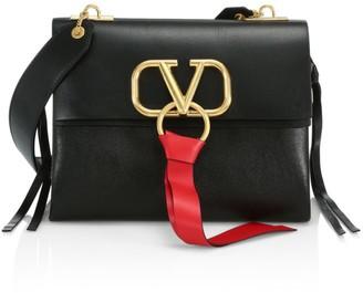 Valentino Small VSling Leather Shoulder Bag