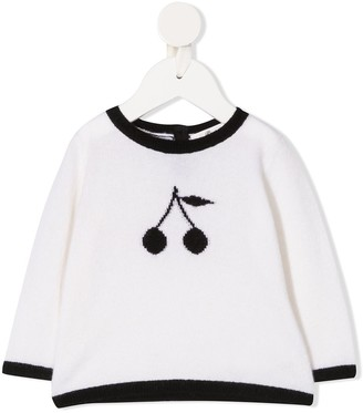 Bonpoint Logo-Jacquard Sweater
