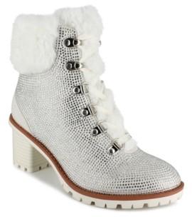 Nanette Lepore Women's Anais Heeled Hiker Booties Women's Shoes