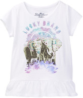 Lucky Brand Photoreal Elephant Tee (Toddler Girls)